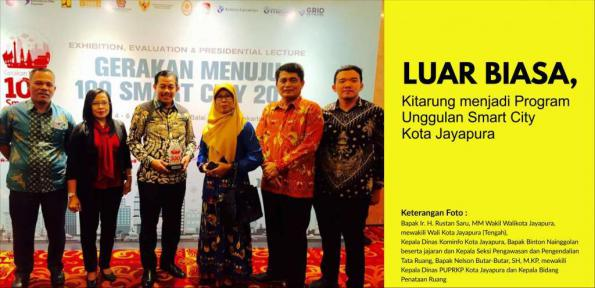 Luar Biasa, Kitarung menjadi Program Unggulan Smart City Kota Jayapura